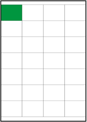 Этикетка на А4 52,5х39,5/28 : Gera-Trade